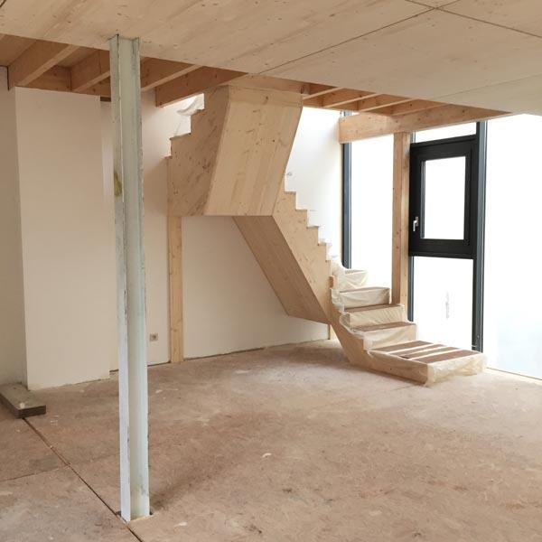 fabrication maison en bois