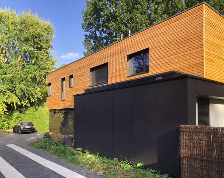Réception maison à ossature bois AMBOIS