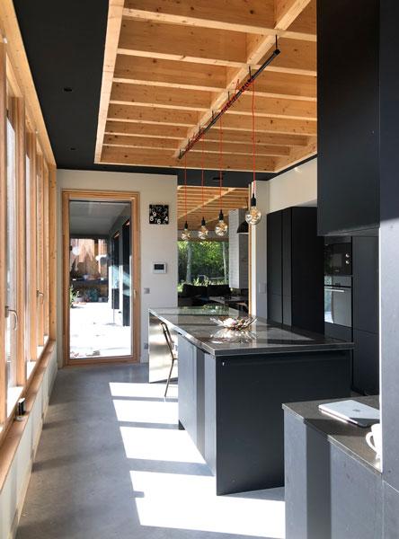 intérieure structure bois
