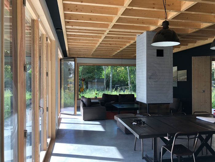 Réalisation et Montage rapide d'une structure d'intérieur en bois